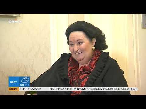 Монсеррат Кабалье передала сувенир для онлайн-аукциона «Интер - детям» (видео)
