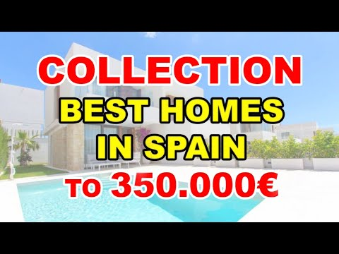 To 350000€/Video BEST HOUSES IN SPAIN/Villas on Costa Blanca/Buy property in Benidorm