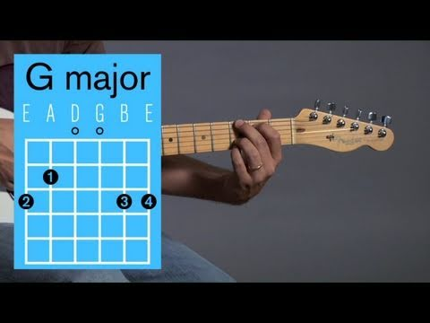 How to Play Guitar: Beginners / Open Chords: G Major