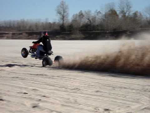 General Lee Sand Wheelie