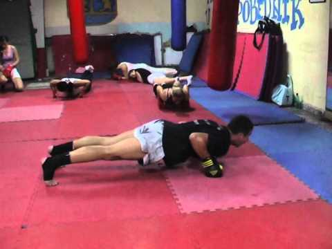 Kik boks klub Zemun Trening 1 (видео)