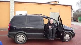 TURNY EVO 001 ve voze OPEL Flextvan