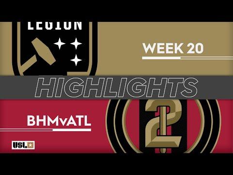 Бирмингем - Atlanta United 2 4:0. Видеообзор матча 21.07.2019. Видео голов и опасных моментов игры