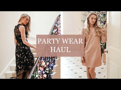PARTYWEAR HAUL // A FESTIVE LOOK BOOK // Fashion Mumblr