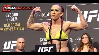 Video UFC 219: Cyborg vs. Holm Ceremonial Weigh-in (FULL) MP3, 3GP, MP4, WEBM, AVI, FLV November 2018