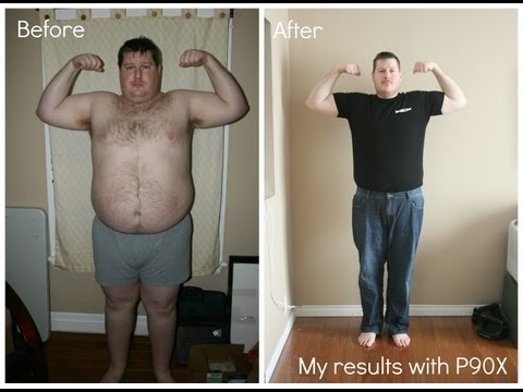 P90X Results – Jeffery's P90X Workout Transformation Results – P90X – Team Burnit