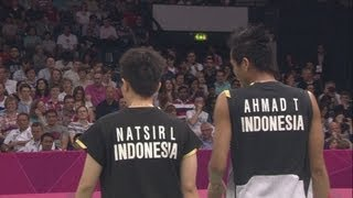 Video Ahmad & Natsir (INA) Win Mixed Doubles Badminton Quarter-Final - London 2012 Olympics MP3, 3GP, MP4, WEBM, AVI, FLV September 2018