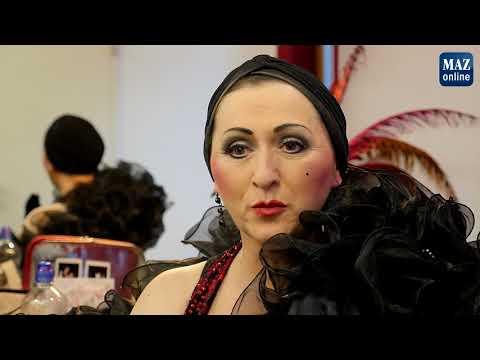 Burlesque, die inszenierte Erotik im Nikolaisaal in P ...