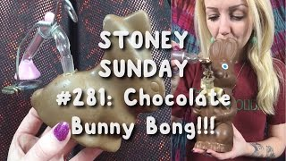 CHOCOLATE BUNNY BONG!! | Stoney Sunday #281 | CoralReefer by Coral Reefer