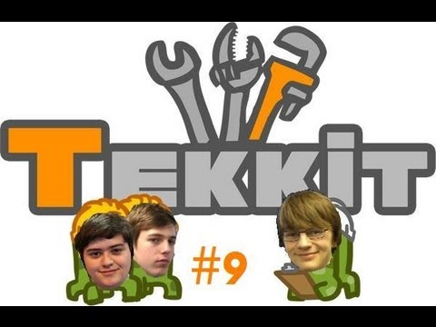 """GlassOfTekkit ep 9: Why am I in """"the gay hole"""""""