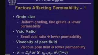 Lecture - 26 Groundwater Flow