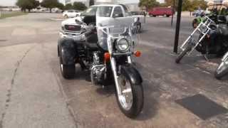 10. 010315 - Used 2004 Honda VT750 Trike For Sale