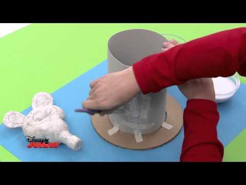 Art Attack - Technique de Corentin le Lapin - Disney Junior - VF