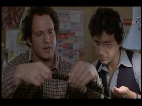 editing - a lesson in film editing with Albert Brooks, Bruno Kirby. from the film MODERN ROMANCE I clam Fair Use in posting this clip. I encourge everybody to rent or ...