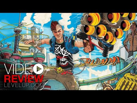 video review - Aquí puedes leer la reseña completa: http://www.levelup.com/Xbox-One/juegos/47752/Sunset-Overdrive/review Si te gustan nuestros videos visita http://www.levelup.com.