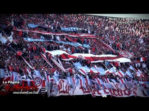 Video - Vamos Millonario / Que esta tarde tenemos que ganar - Los Borrachos del Tablón - River Plate - Argentina
