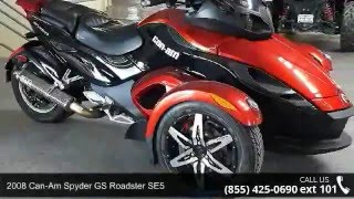 3. 2008 Can-Am Spyder GS Roadster SE5  - RideNow Powersports...