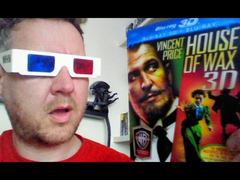 House Of Wax 3D Blu Ray Review (1953) Vincent Price