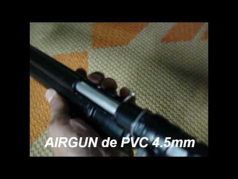 Arma caseira de pressão (AIRGUN)-(MAURICIO)