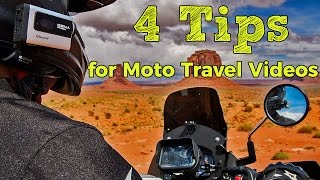 4 Steps to Making an Amazing Motorcycle Travel Video!