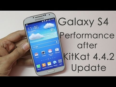 Samsung Galaxy S4 Performance Review after KitKat Update