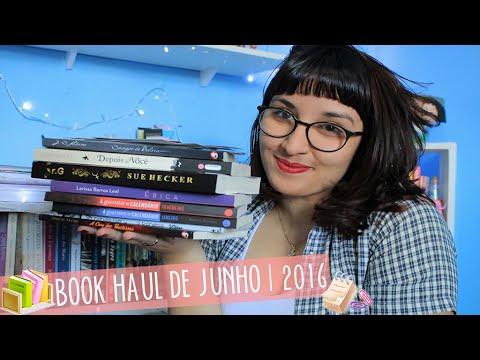 BOOK HAUL  de Junho (2016) | por Carol Sant
