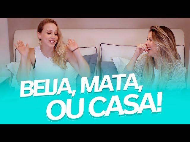 TAG: BEIJA, MATA OU CASA com Marcella Rica - Mica Rocha