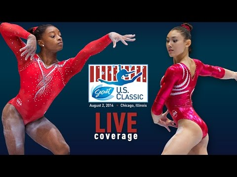 Training - Live coverage of the senior women's podium training session from the Secret U.S. Classic at the Sears Centre in Hoffman Estates, Ill.