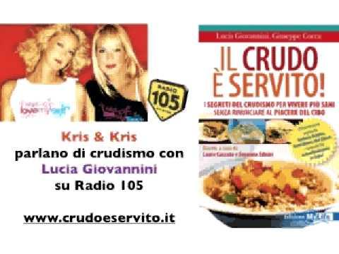 Il Crudo è servito - Kris&Kris intervistano Lucia Giovannini su Radio 105