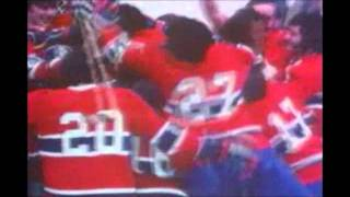 Montreal Canadiens win 1973 Stanley cup