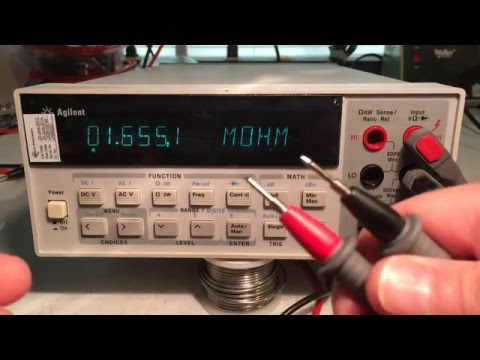 #2 Repair of Agilent 34401A Multimeter