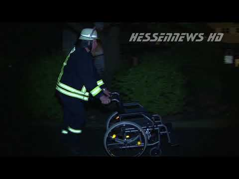Brand in Krankenhaus - MANV-Lage in Fritzlar 15.07.2017