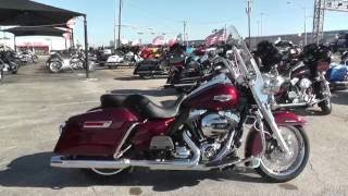 3. 709642 - 2014 Harley Davidson Road King   FLHR - Used motorcycles for sale