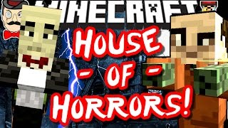 Minecraft HOUSE OF HORRORS! Choose Your Own Fate!
