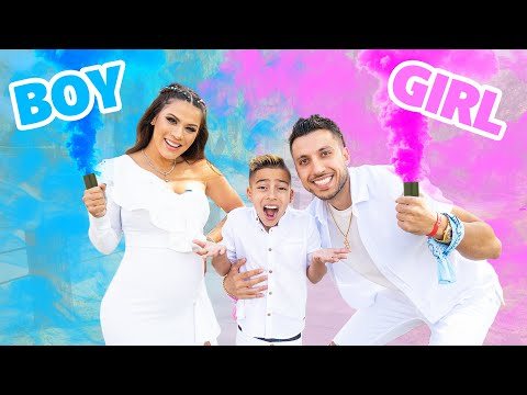 The OFFICIAL GENDER REVEAL Of THE ROYALTY FAMILY! **BOY or GIRL?**.