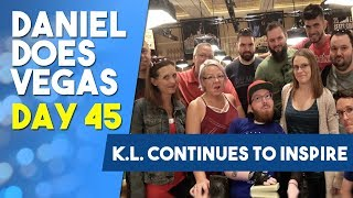 K.L. continues to inspire - WSOP VLOG DAY 45 PRODUCED BY: JAMES TAYLOR Follow K.L on twitter: @Highhands89 Music by...