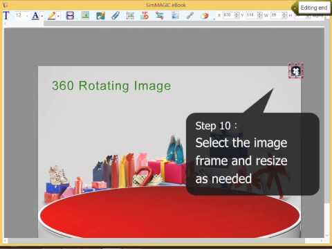 Advanced Popup Window 360 Rotating View