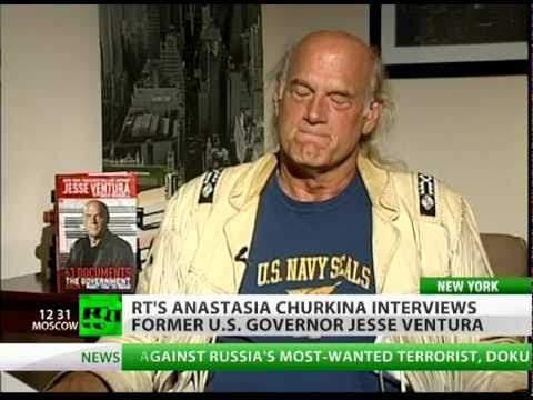 VENTURA - (Full RT's interview with Jesse Ventura) RT's Anastasia Churkina caught up with TV personality, best-selling author, former Governor of Minnesota, former US ...