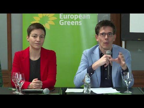Στη μάχη των Ευρωεκλογών οι Ευρωπαίοι Πράσινοι