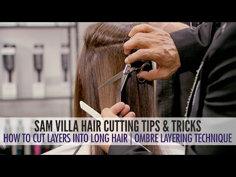 How To Cut Layers in Long Hair – The Ombre Layering Technique