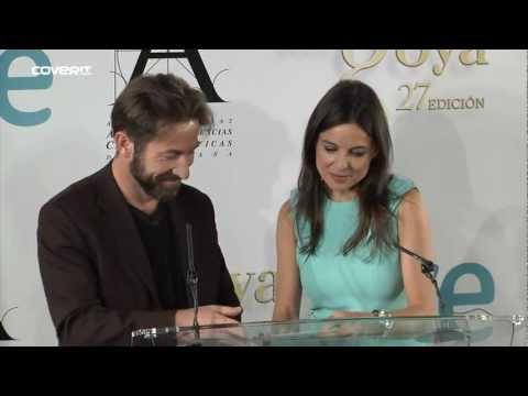 Finalistas de los Premios Goya 2013