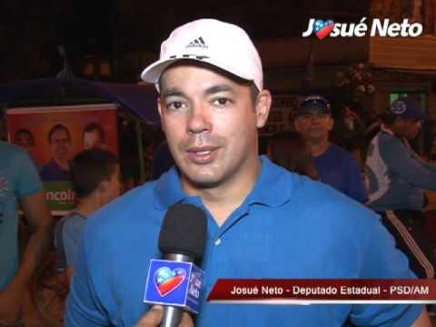 Josué Neto reforça apoio às candidaturas em Maués e Codajás