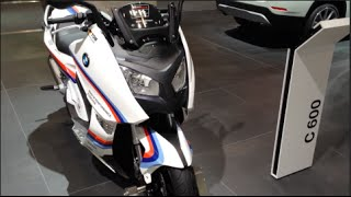 4. BMW C 600 Sport 2014 In detail review walkaround Interior Exterior