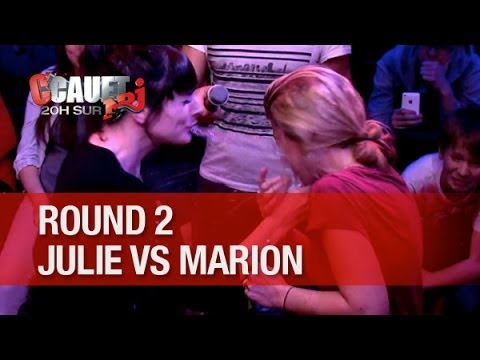 julie - Le crachat d'eau - Round 2 - Julie VS Marion C'Cauet sur NRJ de 20h à 23h ! Pour plus de kiff, abonne-toi ! http://www.youtube.com/subscription_center?add_us...
