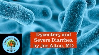 The improper purification of water and preparation of food can lead to infectious diseases. One dangerous illness is dysentery, which can cause bloody diarrhea and intestinal tract damage. Joe Alton, MD, explains prevention, symptoms and treatment of this issue caused by various bacterial or protozoan infections, or even parasitic worms.https://www.doomandbloom.net/https://www.facebook.com/JoeAltonMDhttps://www.facebook.com/groups/survivalmedicinedrbonesandnurseamy/http://store.doomandbloom.net/categories/medical-and-dental-kits.htmlhttps://twitter.com/preppershow