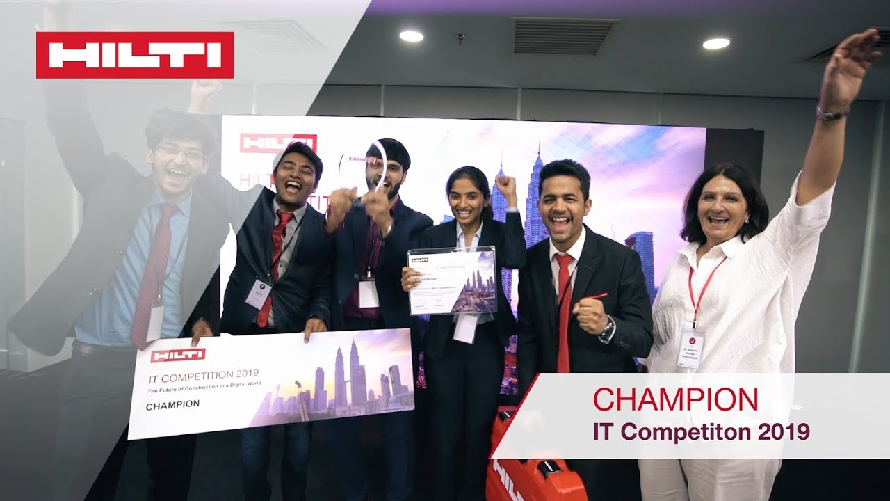 The highlights of Hilti's 2019 IT competition