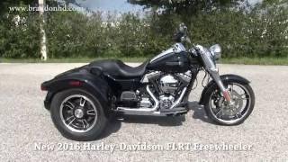 3. 2016 Harley Davidson Trike Freewheeler - 2018 Lineup Coming Soon