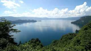 【HD】秋田県 十和田湖の大展望 – がんばれ東北!