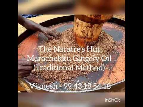 Traditional gingely oil preparation