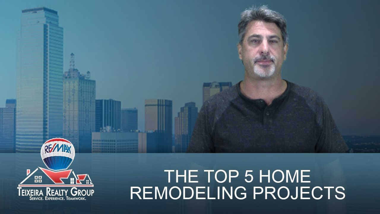 Add Tremendous Value to Your Home With These 5 Remodeling Projects